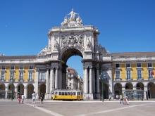 Praça do Comercio em Lisboa